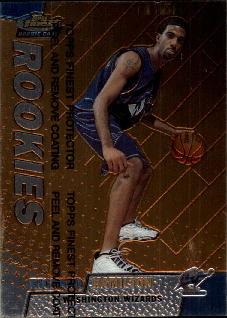 1999-00 Finest #254 Richard Hamilton RC