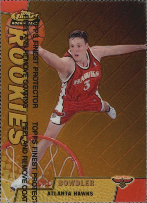 1999-00 Finest Refractors Gold #113 Cal Bowdler