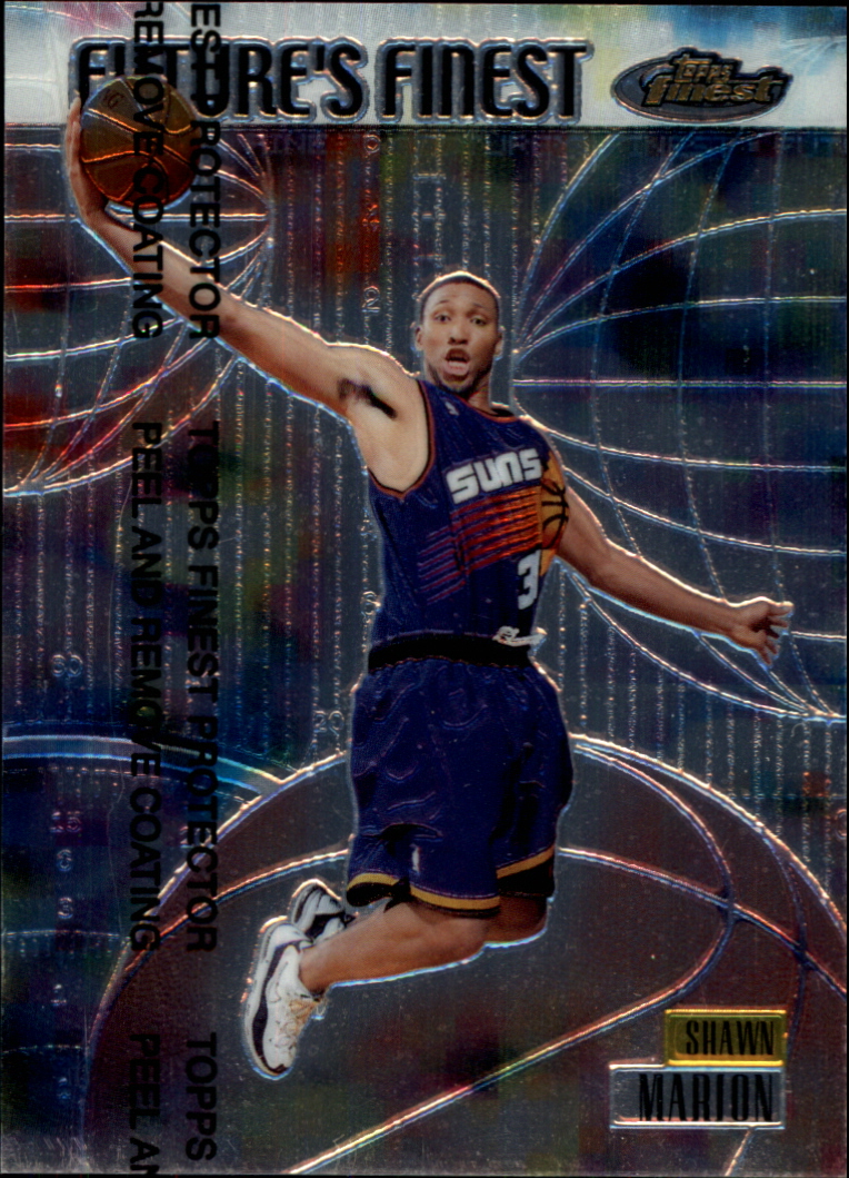 1999-00 Finest Future's Finest #FF9 Shawn Marion