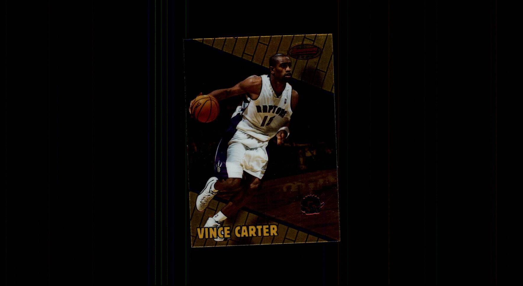 1999-00 Bowman's Best #1 Vince Carter