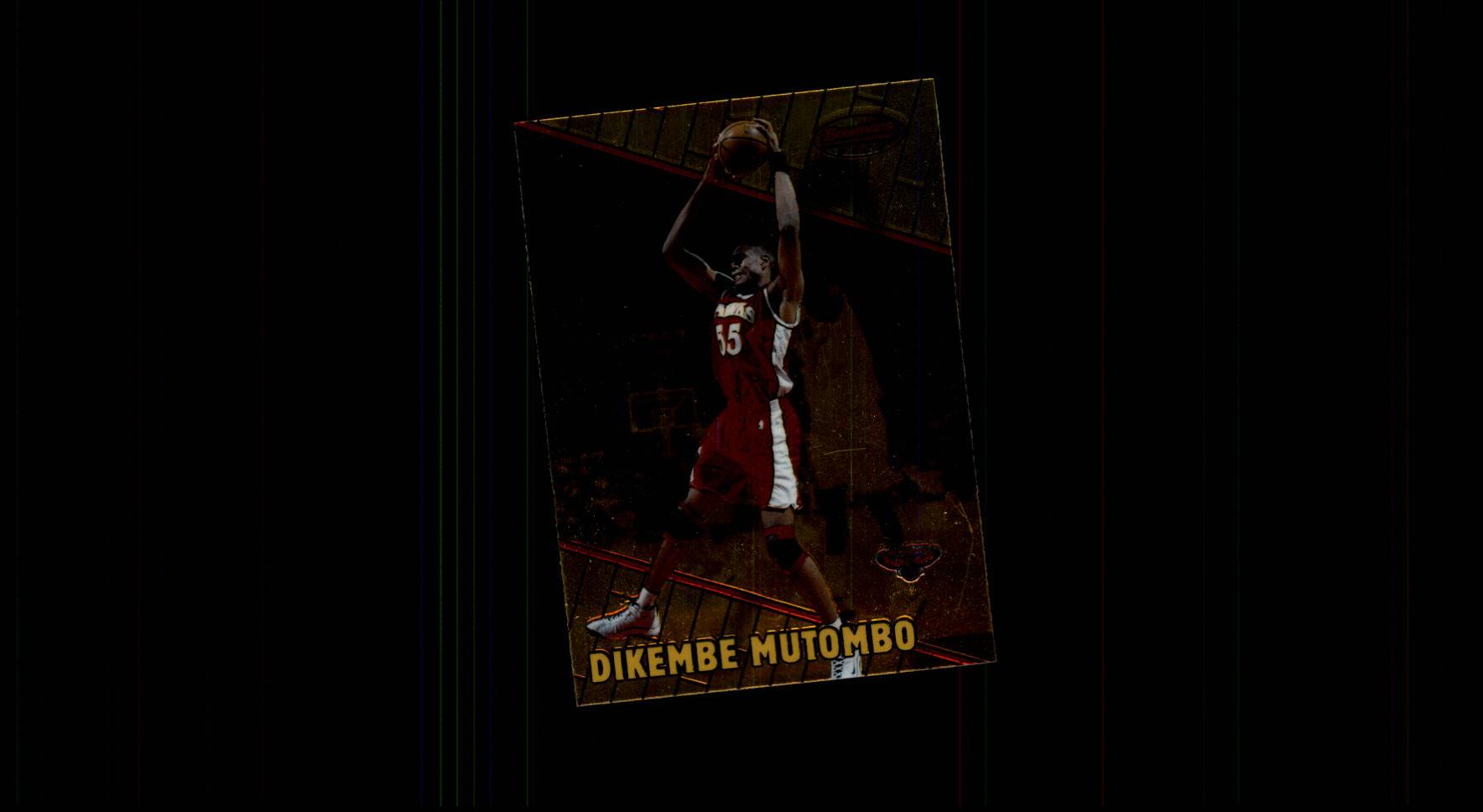 1999-00 Bowman's Best #2 Dikembe Mutombo