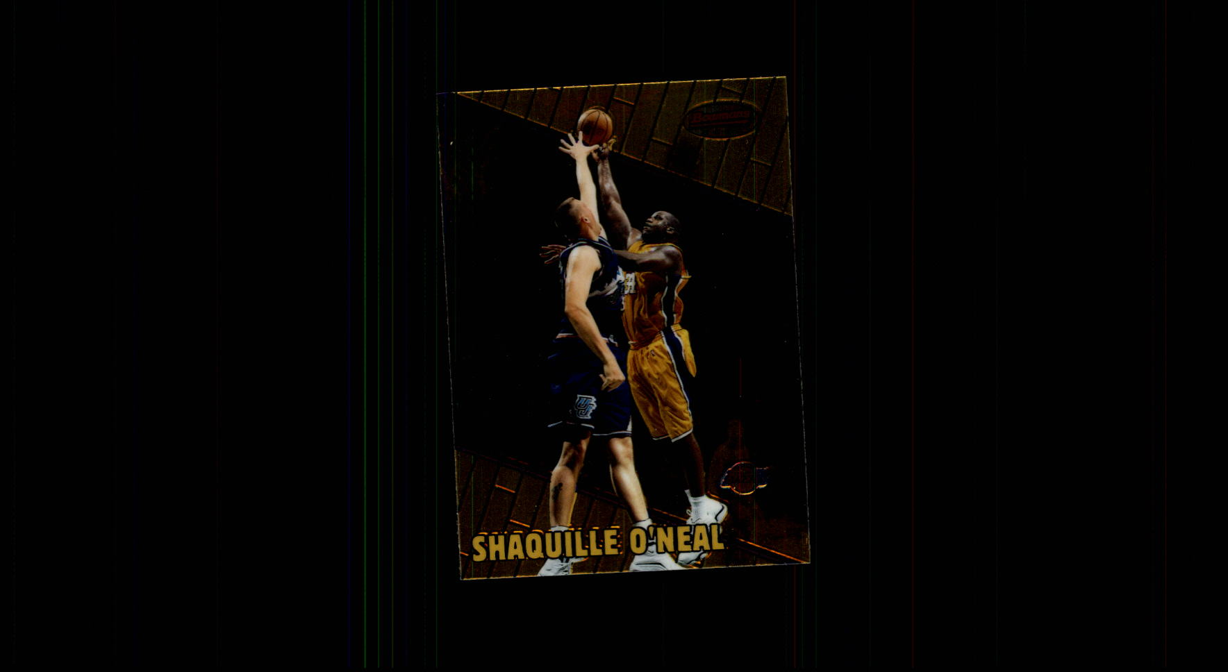 1999-00 Bowman's Best #17 Shaquille O'Neal
