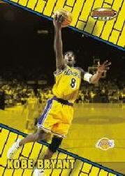 1999-00 Bowman's Best #58 Kobe Bryant