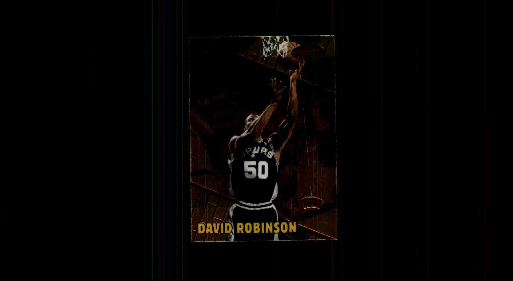 1999-00 Bowman's Best #84 David Robinson