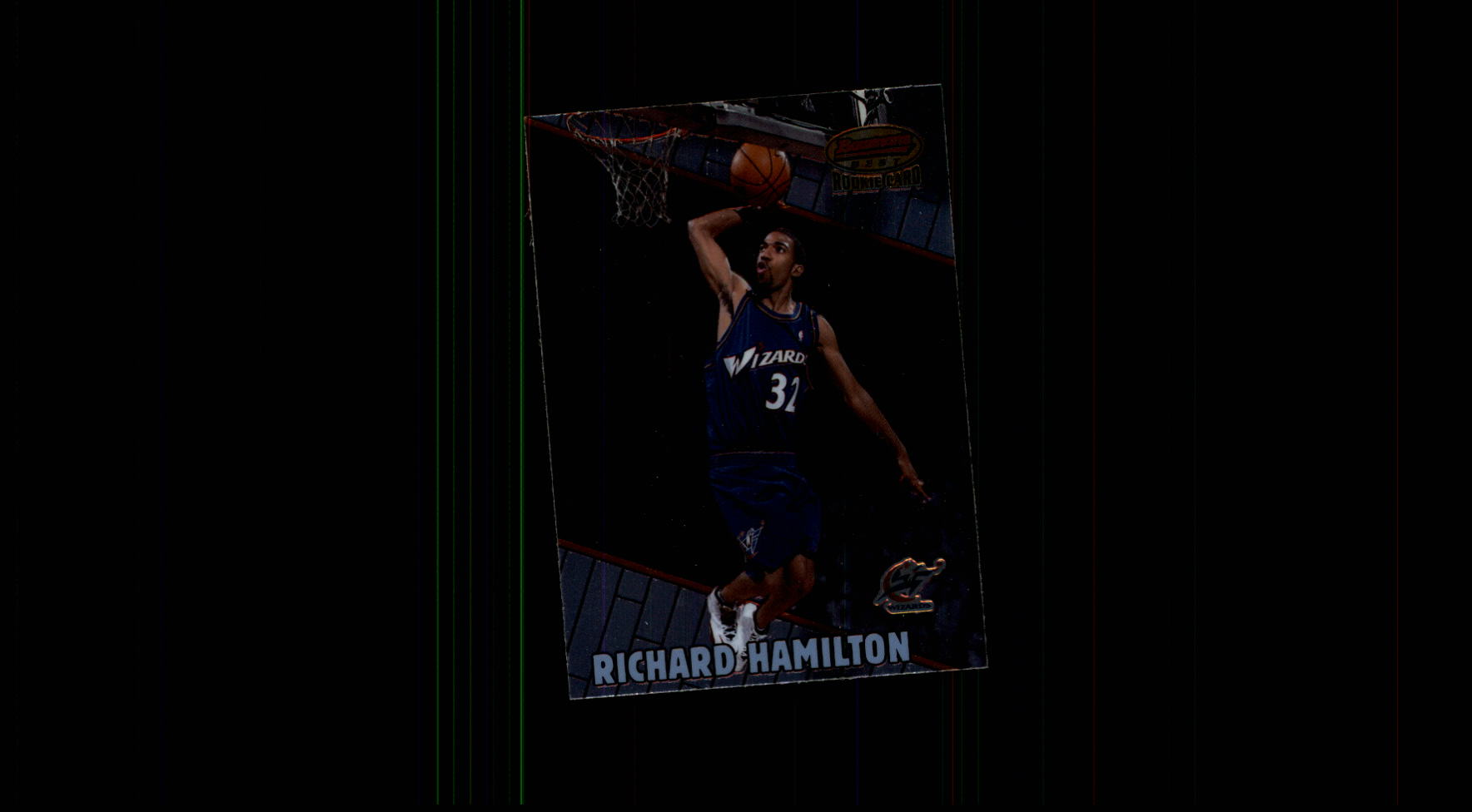 1999-00 Bowman's Best #107 Richard Hamilton RC