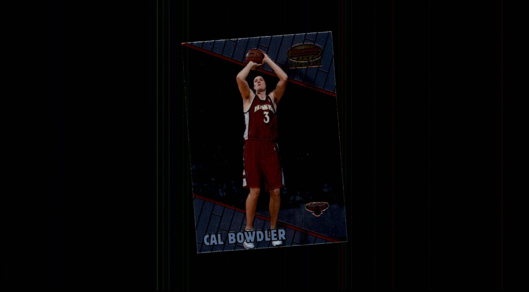 1999-00 Bowman's Best #117 Cal Bowdler RC