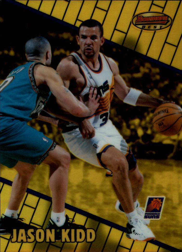 1999-00 Bowman's Best Refractors #7 Jason Kidd
