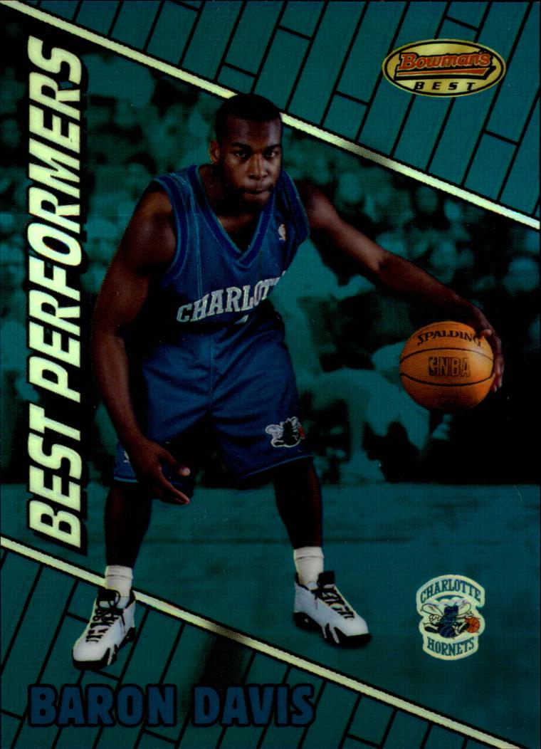 1999-00 Bowman's Best Refractors #97 Baron Davis BP
