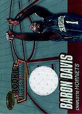 1999-00 Bowman's Best Rookie Locker Room Collection #LRCJ4 Baron Davis