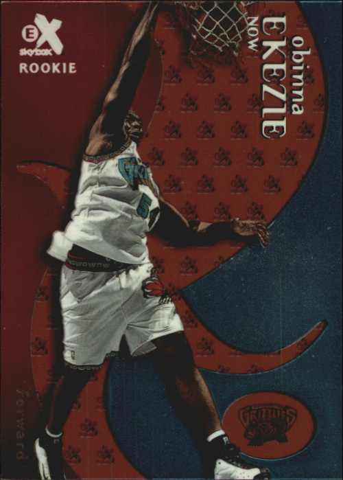1999-00 E-X Essential Credentials Now #83 Obinna Ekezie/23
