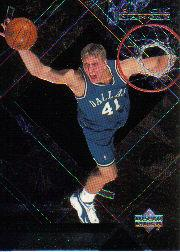1999-00 Black Diamond #17 Dirk Nowitzki