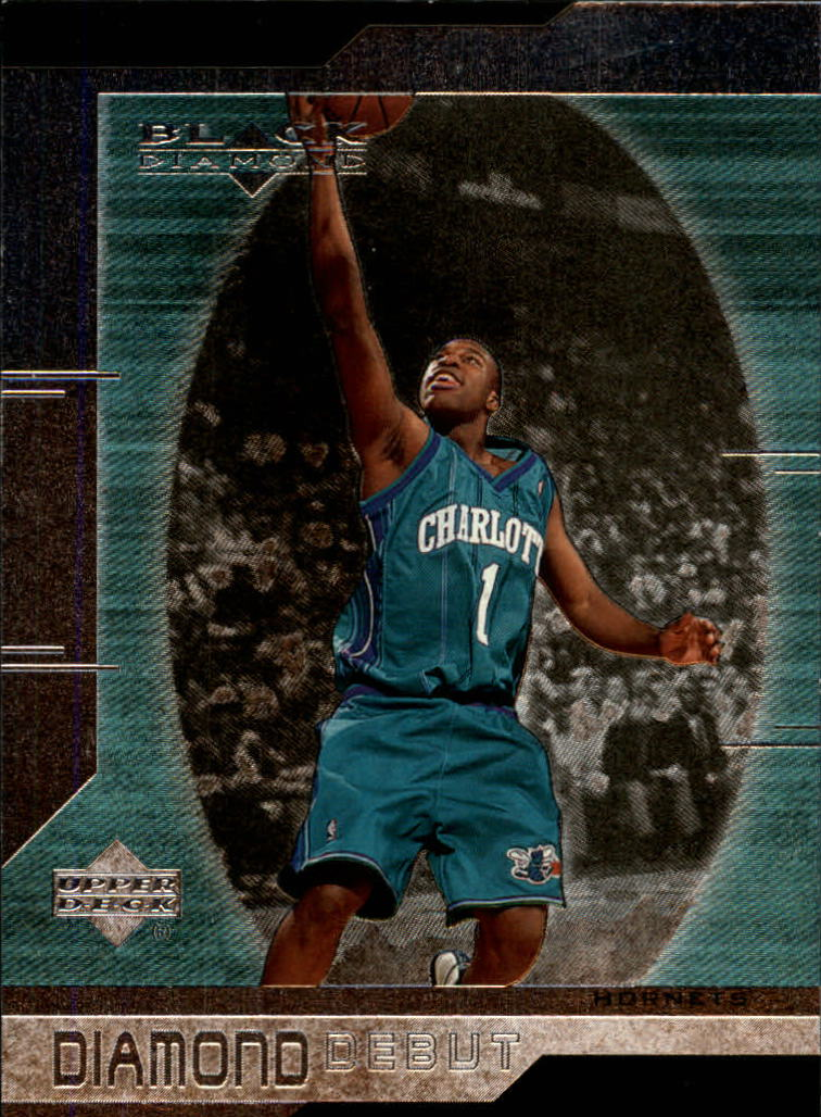 1999-00 Black Diamond #93 Baron Davis RC