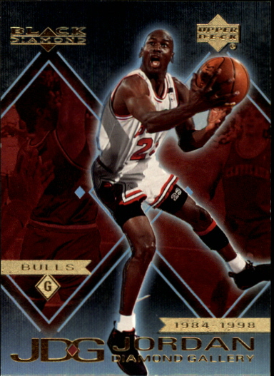 1999-00 Black Diamond Jordan Diamond Gallery #DG1 Michael Jordan