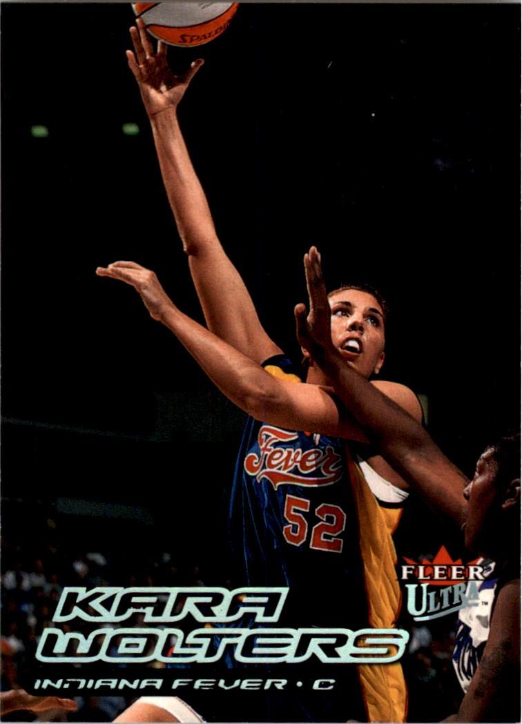 2000 Ultra WNBA #100 Kara Wolters