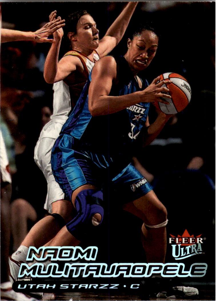 2000 Ultra WNBA #116 Naomi Mulitauaopele RC