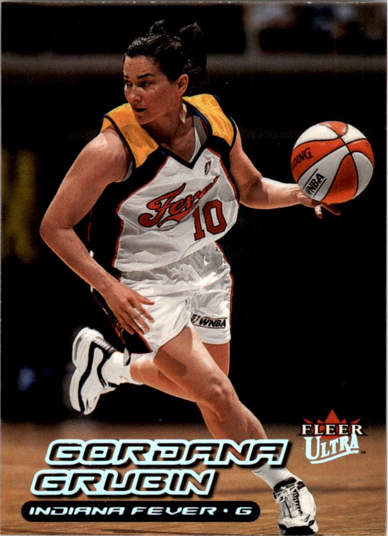 2000 Ultra WNBA #120 Gordana Grubin RC