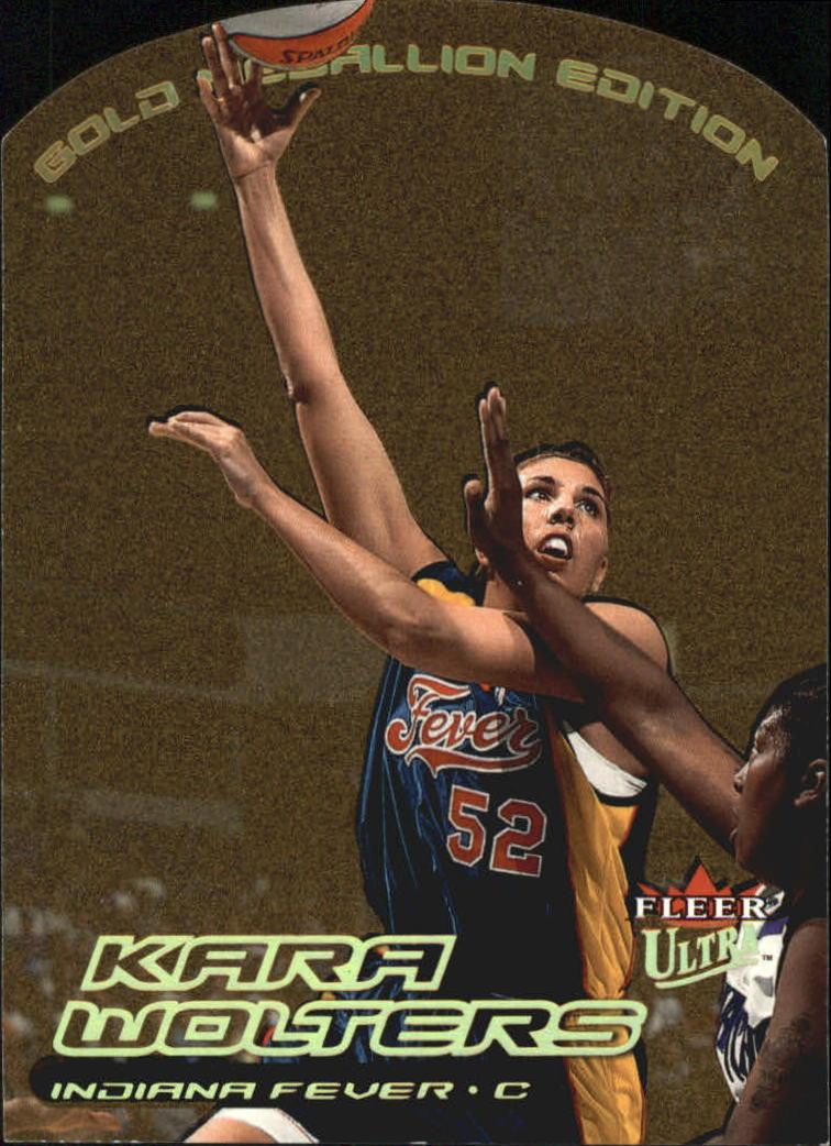 2000 Ultra WNBA Gold Medallion #100 Kara Wolters