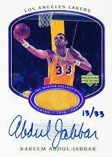 2000 Upper Deck Lakers Master Collection Mystery Pack Inserts #KAAF Kareem Abdul-Jabbar FF/33