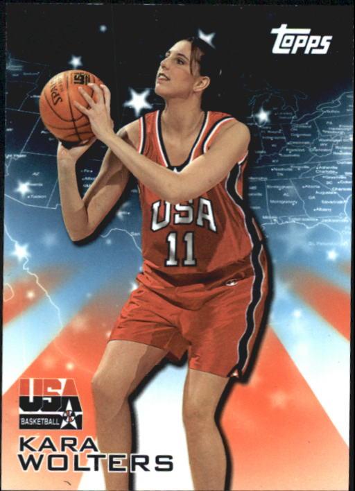 2000 Topps Team USA #23 Kara Wolters ACH