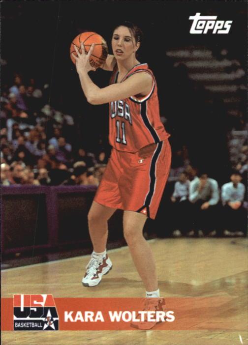 2000 Topps Team USA #46 Kara Wolters ST