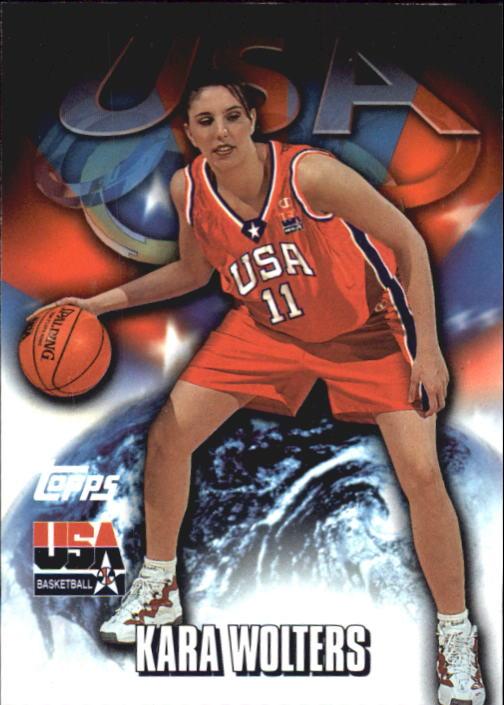 2000 Topps Team USA #69 Kara Wolters PAI