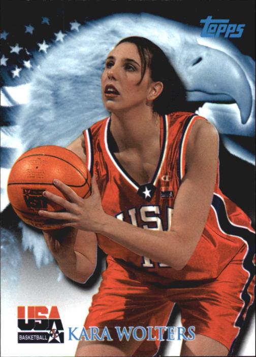 2000 Topps Team USA #92 Kara Wolters QU