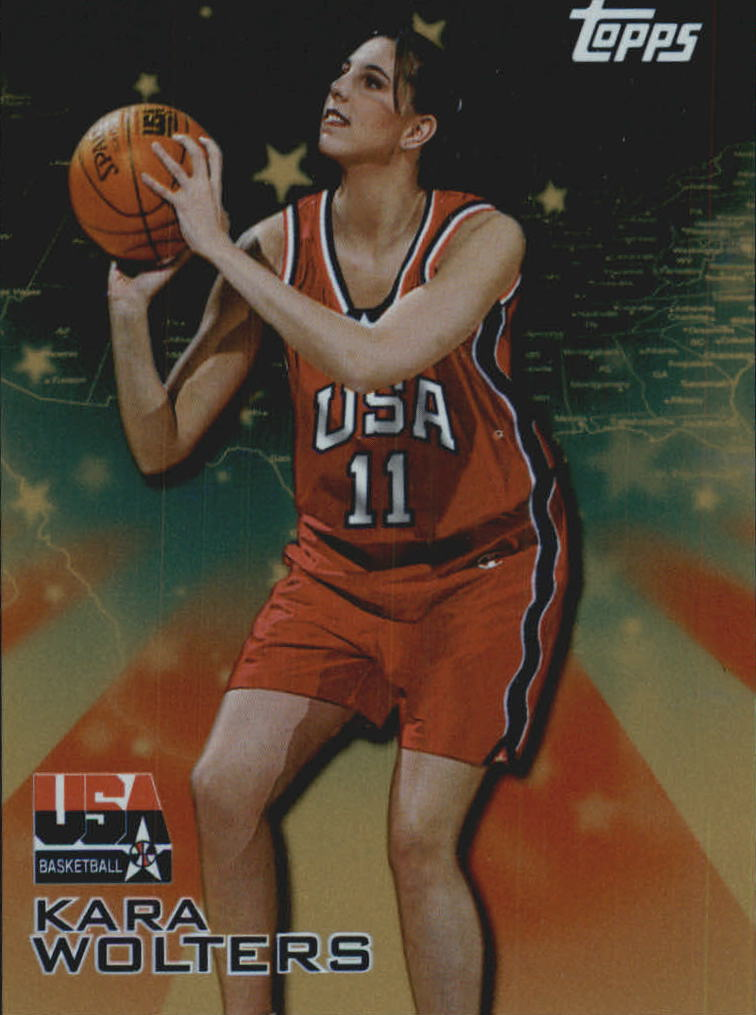 2000 Topps Team USA Gold #23 Kara Wolters ACH