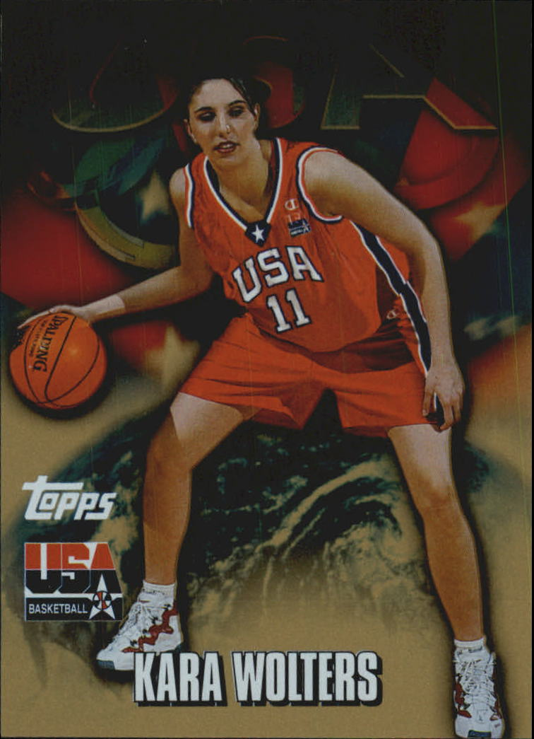 2000 Topps Team USA Gold #69 Kara Wolters PAI