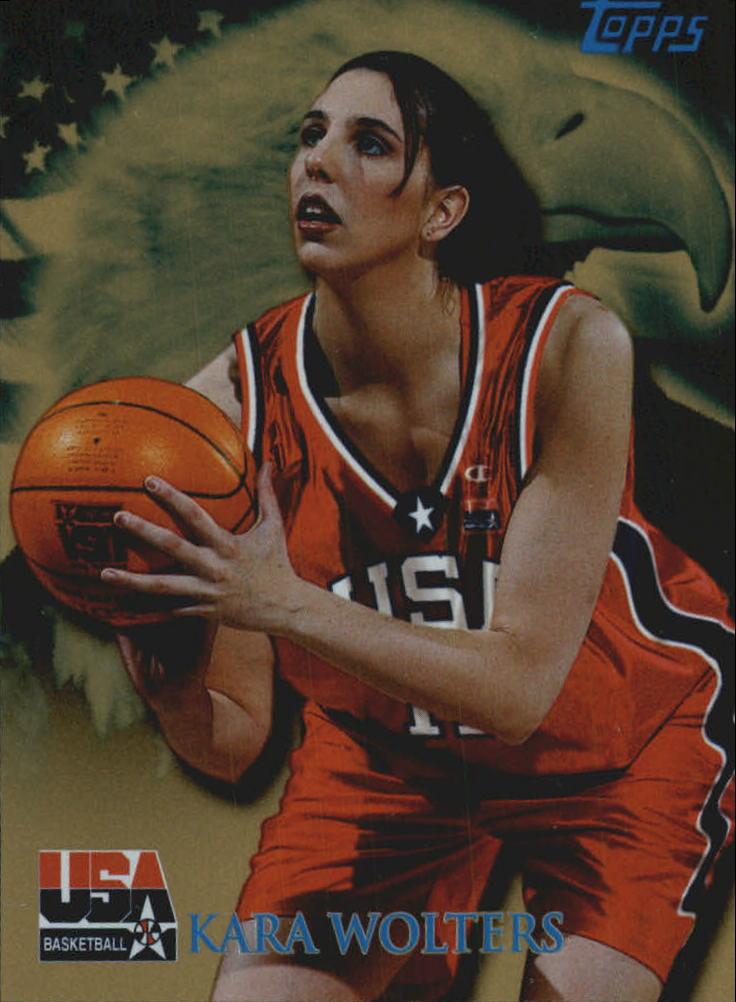 2000 Topps Team USA Gold #92 Kara Wolters QU
