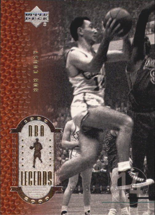 2000 Upper Deck Century Legends #4 Bob Cousy