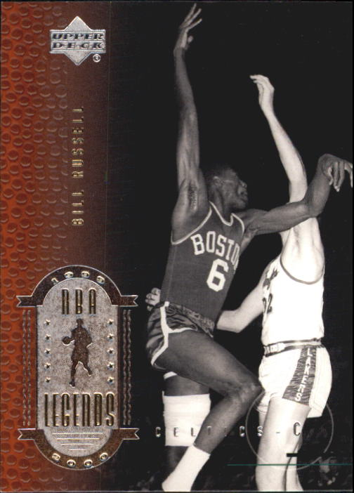 2000 Upper Deck Century Legends #5 Bill Russell