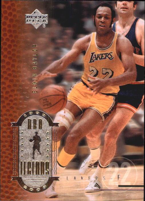 2000 Upper Deck Century Legends #9 Elgin Baylor
