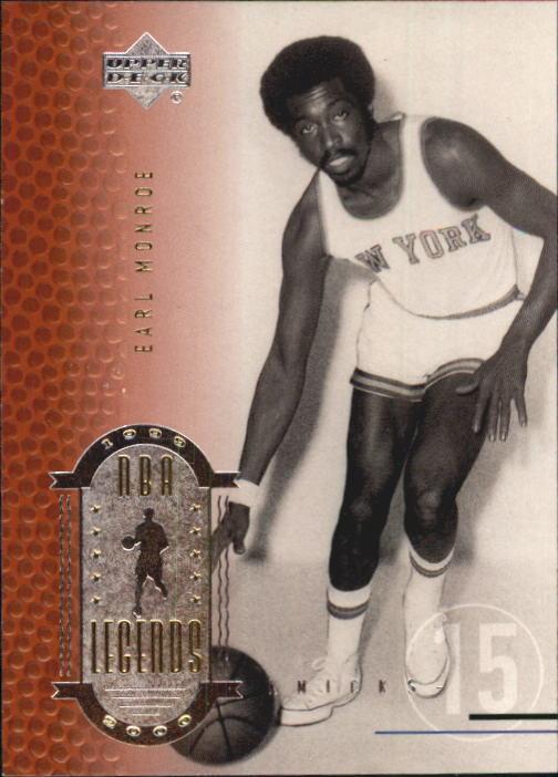 2000 Upper Deck Century Legends #16 Earl Monroe