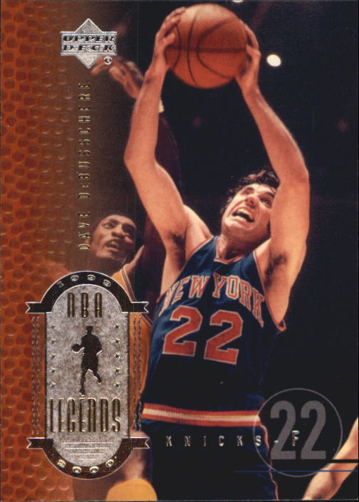 2000 Upper Deck Century Legends #29 Dave DeBusschere