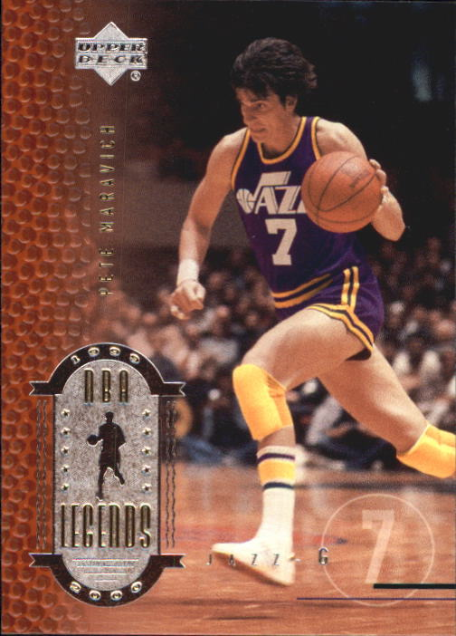 2000 Upper Deck Century Legends #44 Pete Maravich