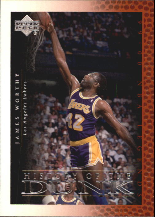 2000 Upper Deck Century Legends #58 James Worthy HD