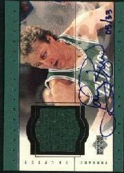 2000 Upper Deck Century Legends Legendary Jerseys #LBA Larry Bird AU/33