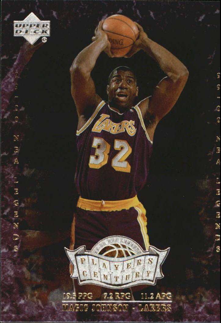 2000 Upper Deck Century Legends Players of the Century #P3 Magic Johnson