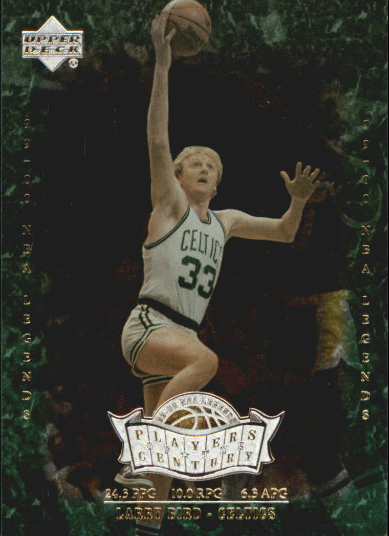 2000 Upper Deck Century Legends Players of the Century #P4 Larry Bird