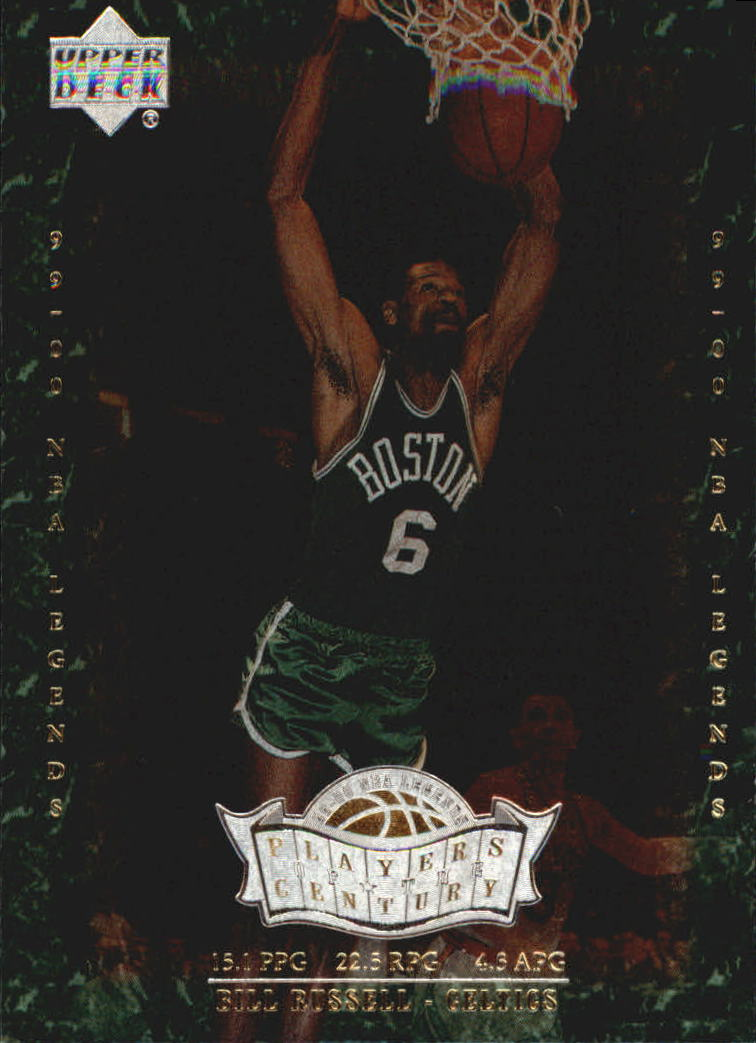2000 Upper Deck Century Legends Players of the Century #P5 Bill Russell