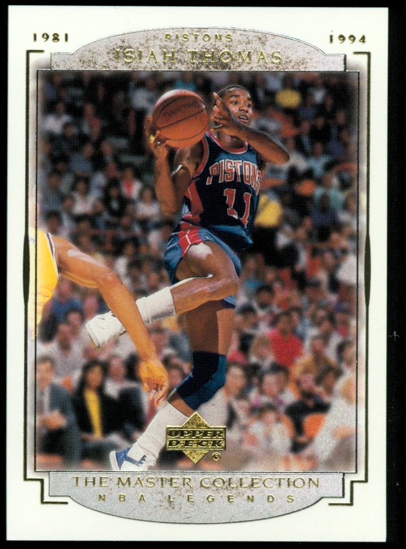 2000 Upper Deck Legends Master Collection #16 Isiah Thomas