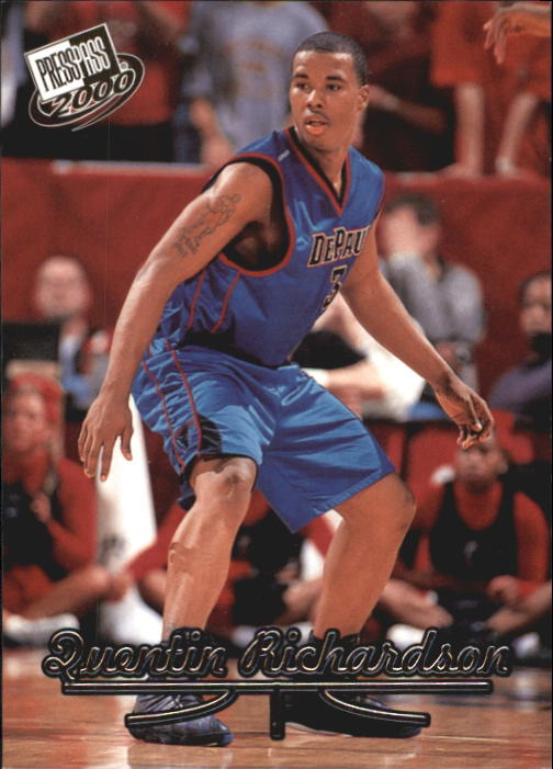 2000 Press Pass #8 Quentin Richardson