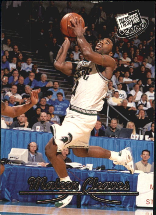 2000 Press Pass #9 Mateen Cleaves