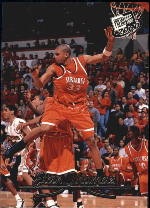 2000 Press Pass #10 Etan Thomas