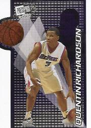 2000 Press Pass SE Two on One #TO1C Quentin Richardson