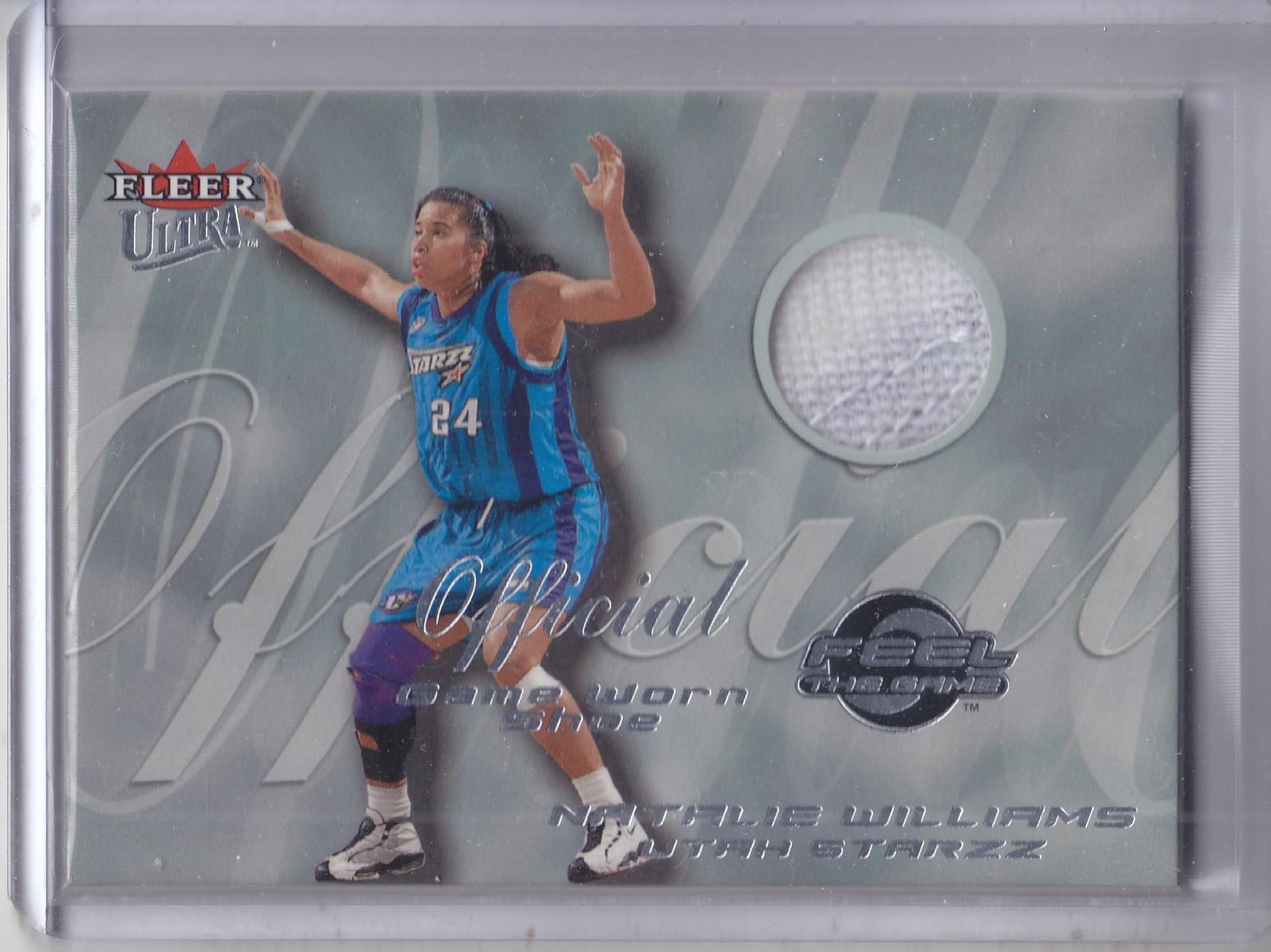2000 Ultra WNBA Feel the Game #16 Natalie Williams