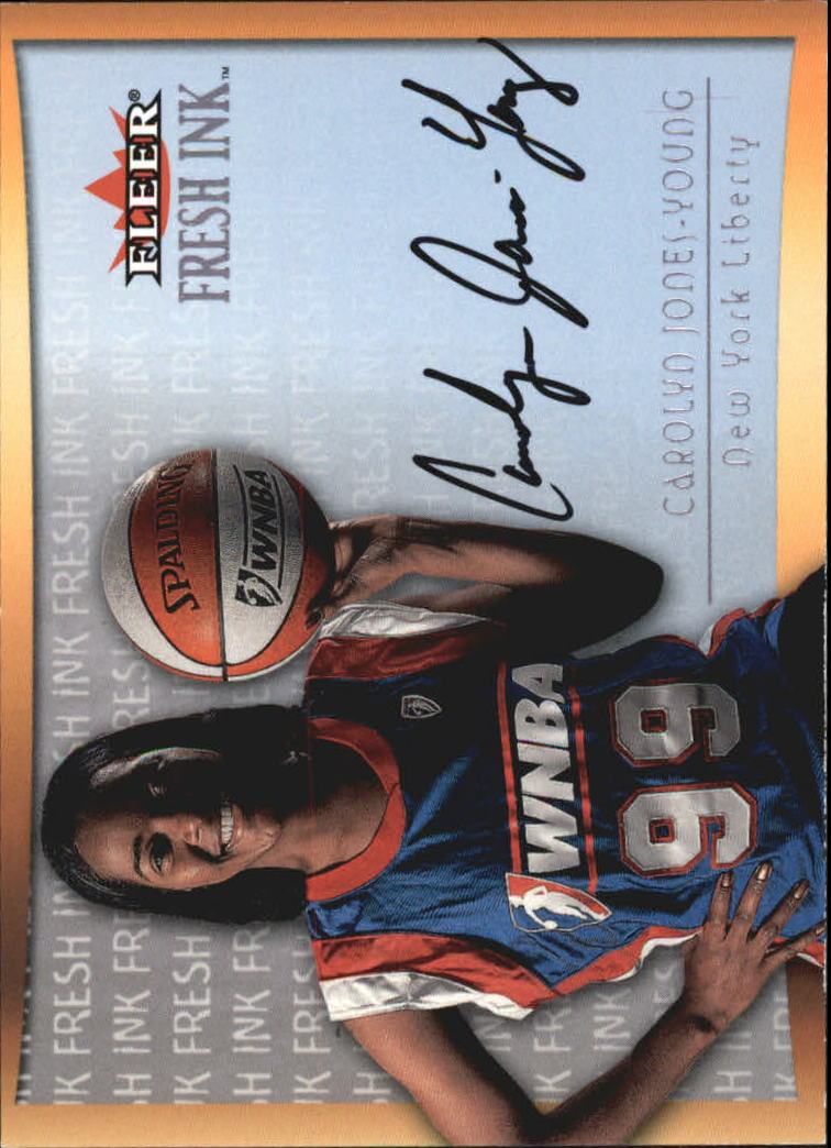2000 Ultra WNBA Fresh Ink #8 Carolyn Jones-Young