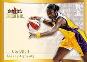 2000 Ultra WNBA Fresh Ink #9 Lisa Leslie