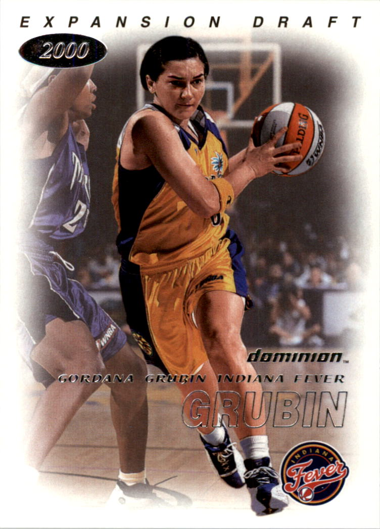 2000 SkyBox Dominion WNBA #112 Gordana Grubin ED RC