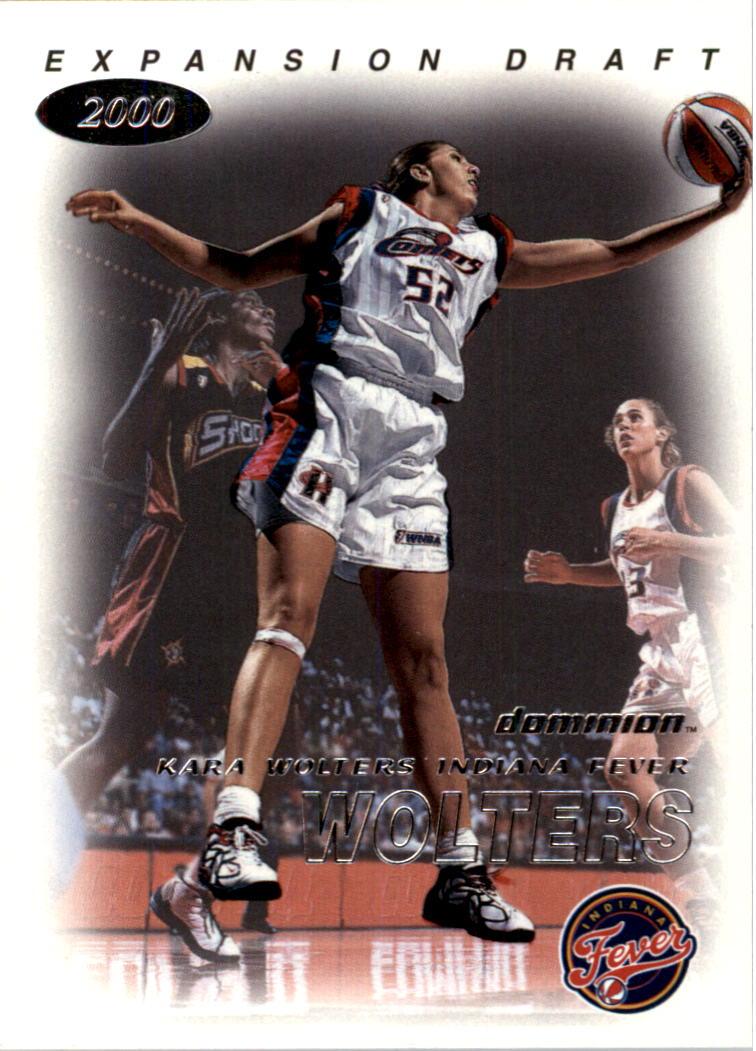2000 SkyBox Dominion WNBA #113 Kara Wolters ED